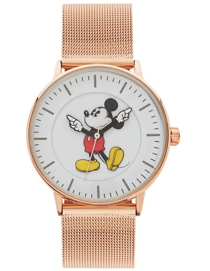 Formal Mickey 40mm Rose Gold Mesh image 1
