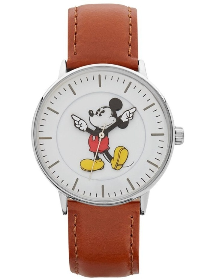 Formal Mickey 36mm Brown / Silver image 1