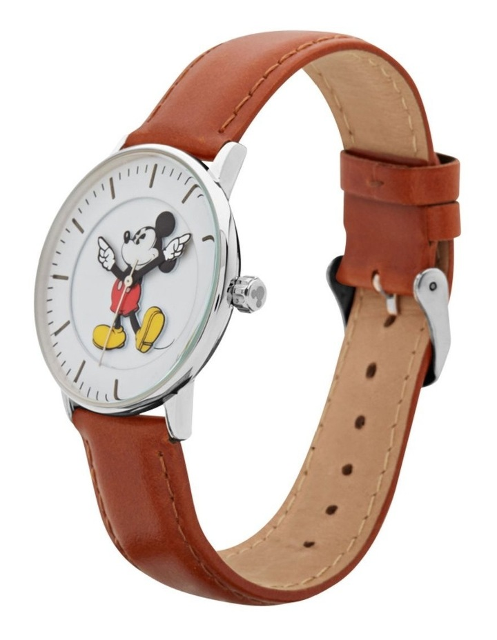 Formal Mickey 36mm Brown / Silver image 2