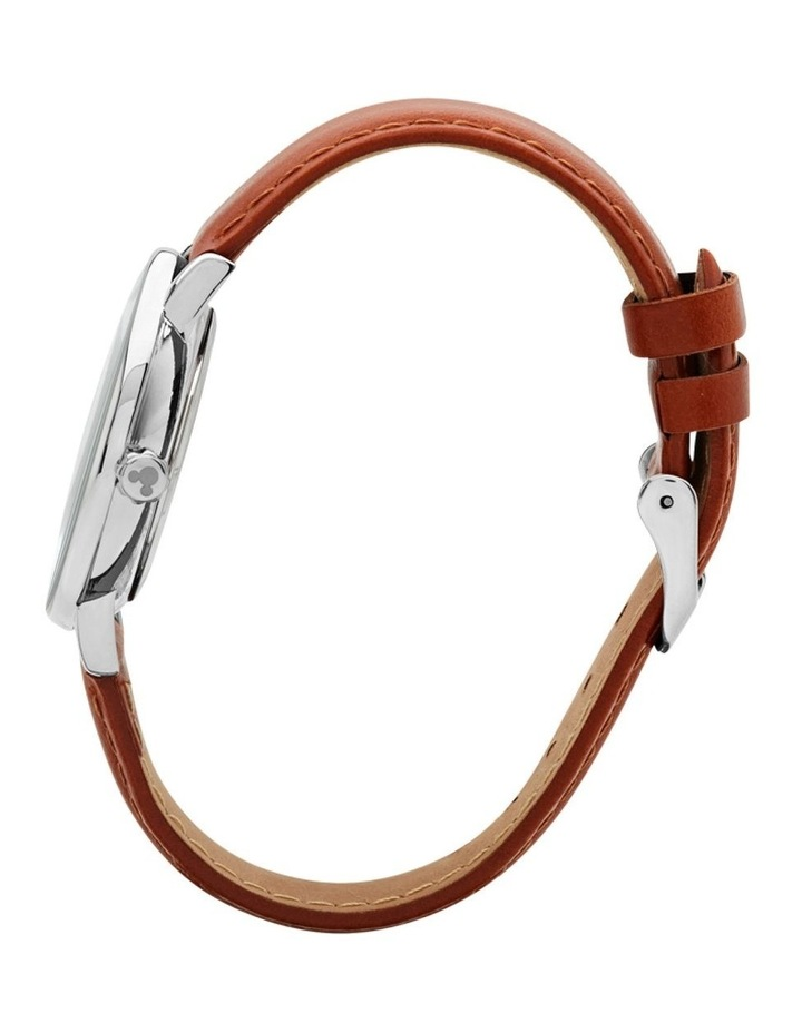 Formal Mickey 36mm Brown / Silver image 3