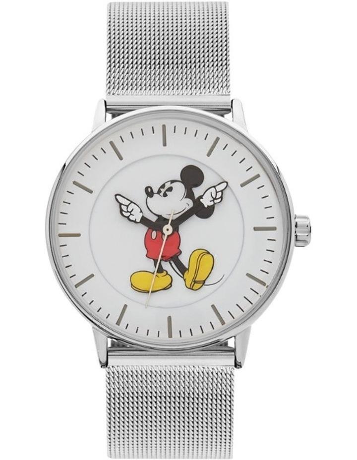 Formal Mickey 36mm Silver Mesh image 1