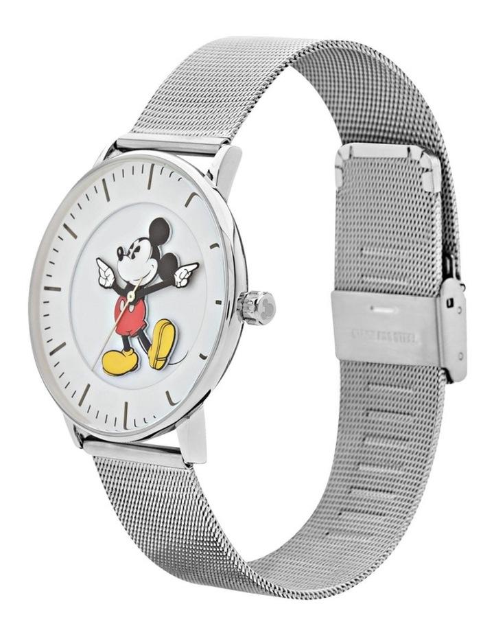 Formal Mickey 36mm Silver Mesh image 2