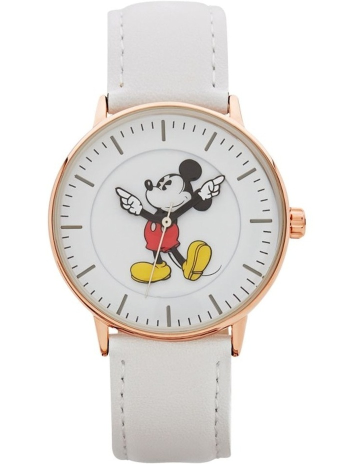 Formal Mickey 36mm White / Rose Gold image 1