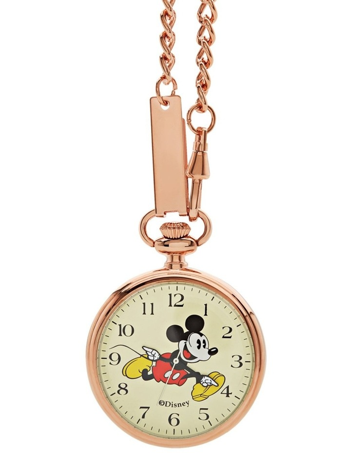 Mickey Pocket Watch 48mm Rose Gold image 1