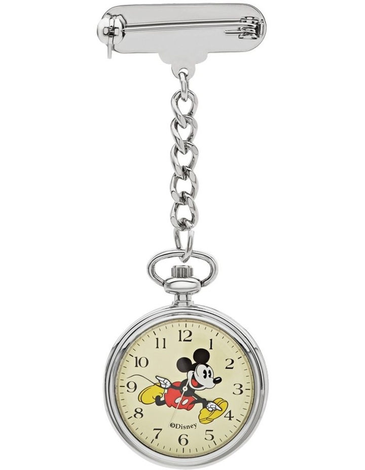 Mickey Nurses Watch 30mm Silver image 1