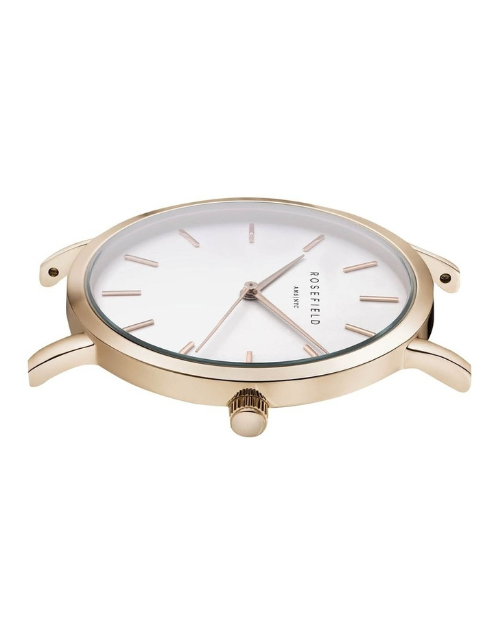 Tribeca White Dial 33MM Rose Gold Stainless Steel Analog Watch TWR-T50 image 3