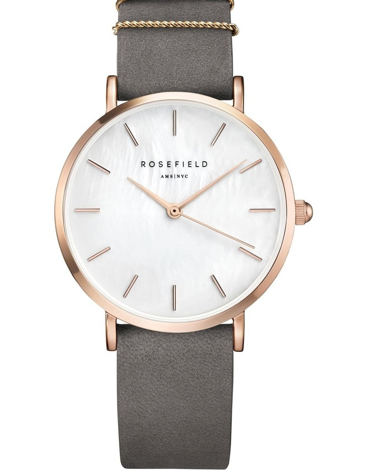 WEGR-W75 33MM West Village MOP Dial Rosegold Grey Suede image 1