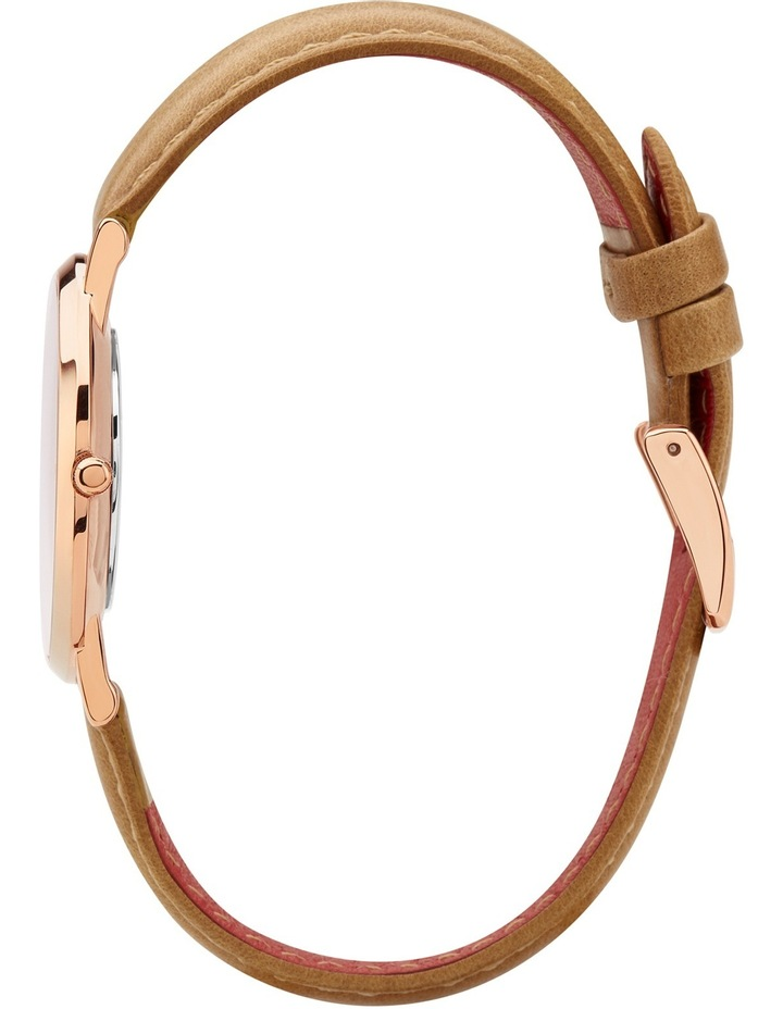 RCM0401 Mini Pinnacle Tan And Rose Gold Watch image 3