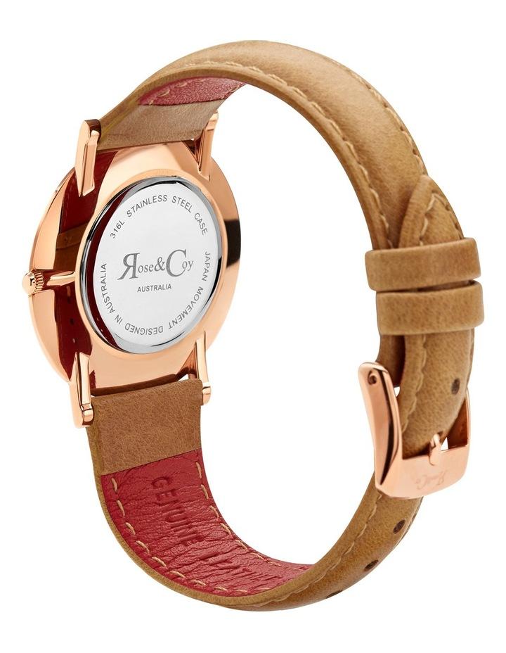 RCM0401 Mini Pinnacle Tan And Rose Gold Watch image 4