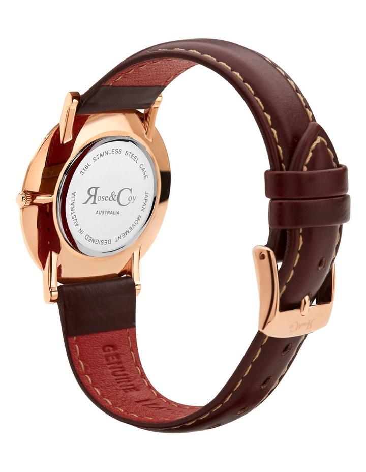 RCM0601 Mini Pinnacle Brown And Rose Gold Watch image 4