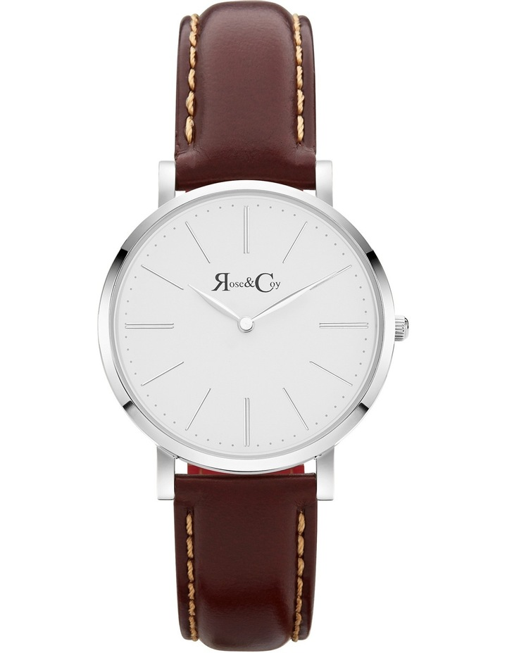 RCM0602 Mini Pinnacle Silver And Brown Watch image 1