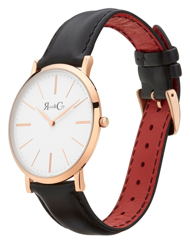 RC0101 Pinnacle Rose Gold And Black Watch image 2