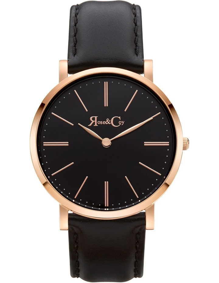 RC0103 Pinnacle Rose Gold And Black Watch image 1