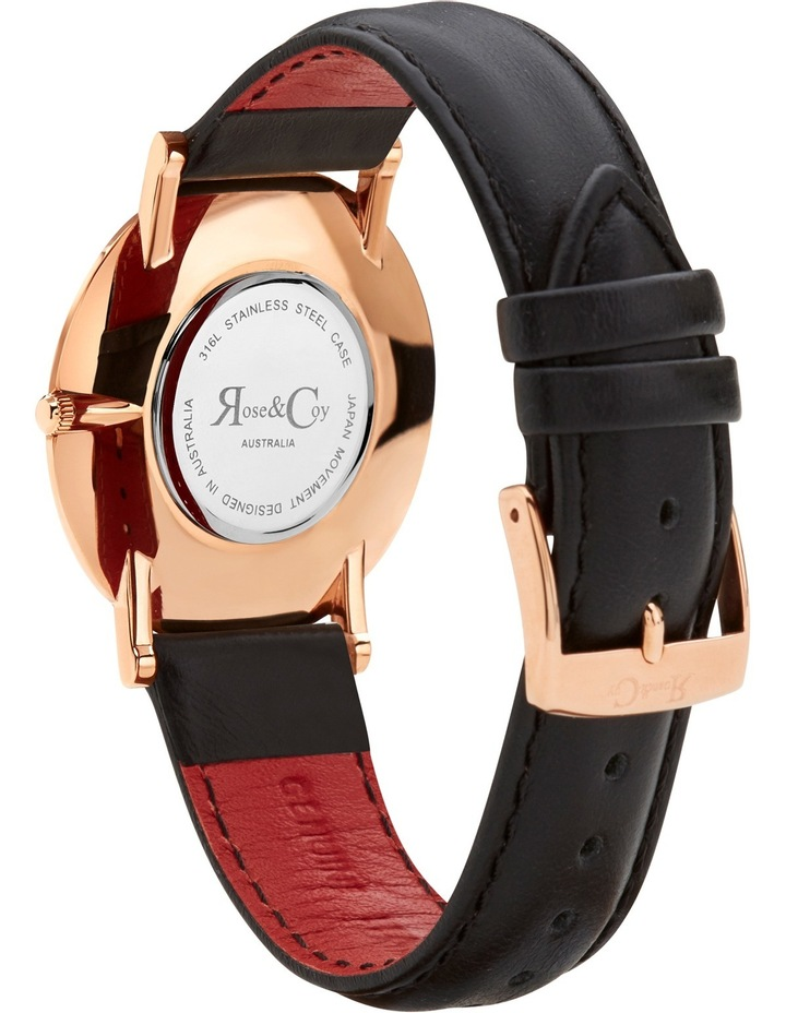 RC0103 Pinnacle Rose Gold And Black Watch image 4