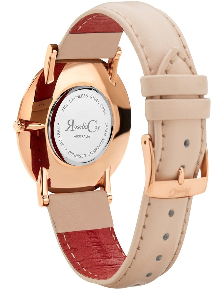 RC0301 Pinnacle Peach And Rose Gold Watch image 4