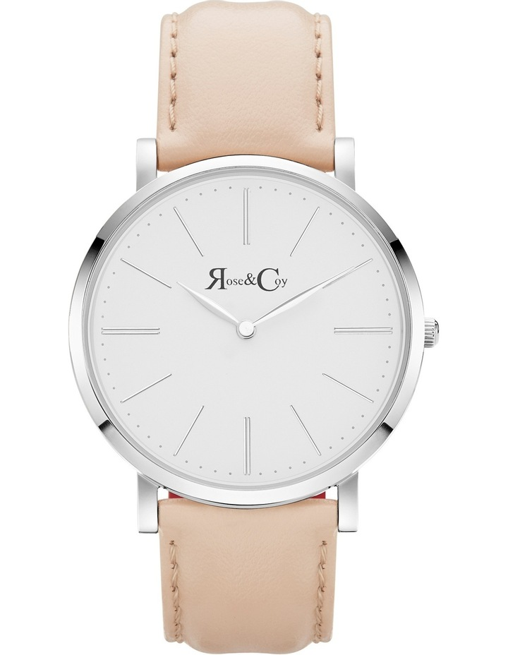 RC0302 Pinnacle Silver And Peach Watch image 1