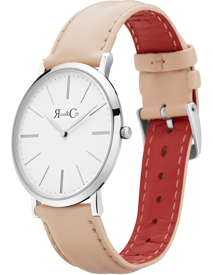 RC0302 Pinnacle Silver And Peach Watch image 2