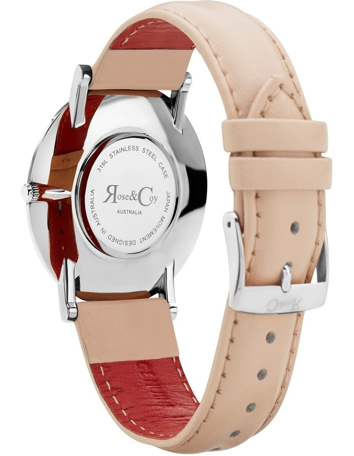 RC0302 Pinnacle Silver And Peach Watch image 4