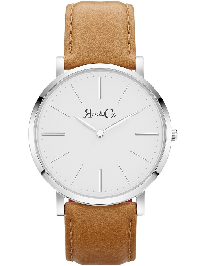RC0402 Pinnacle Silver And Tan Watch image 1