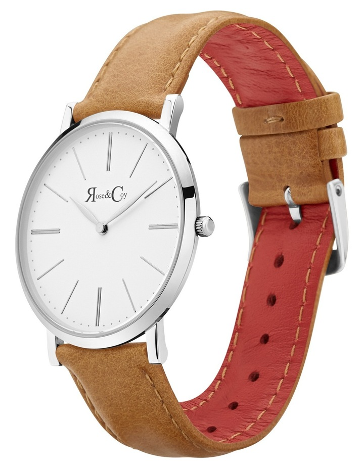 RC0402 Pinnacle Silver And Tan Watch image 2