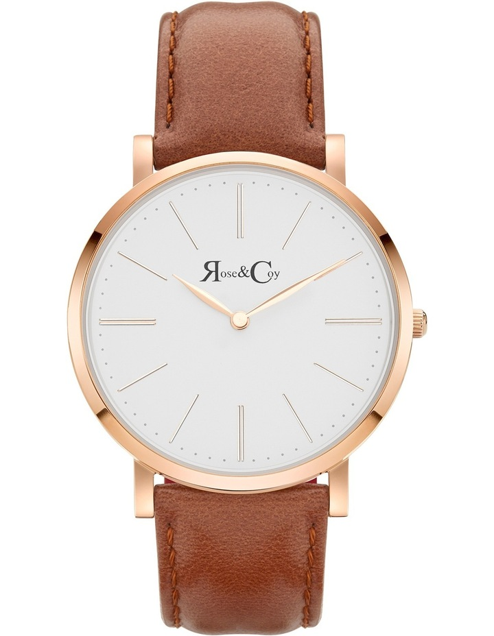 RC0501 Pinnacle Brown And Rose Gold Watch image 1