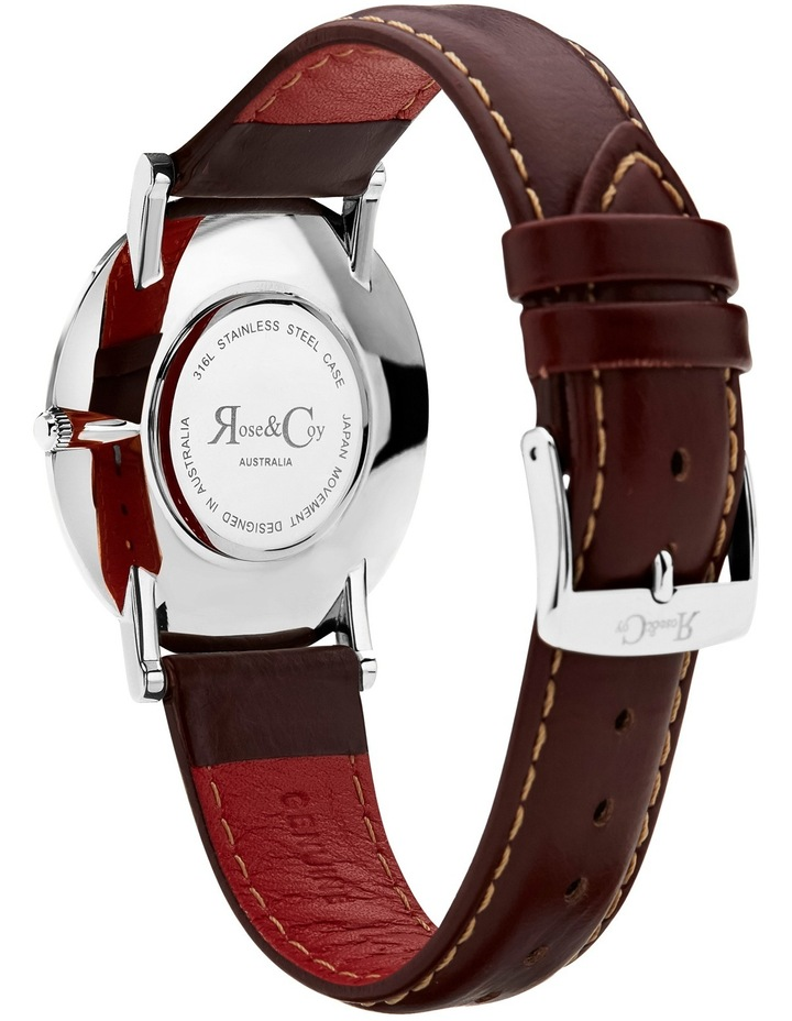 RC0603 Pinnacle Silver And Brown Watch image 4