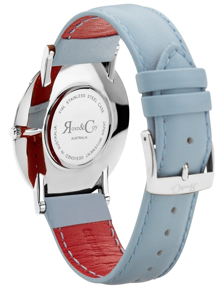 bd11d85a306a4 RC0801 Pinnacle Silver And Blue Watch image 4