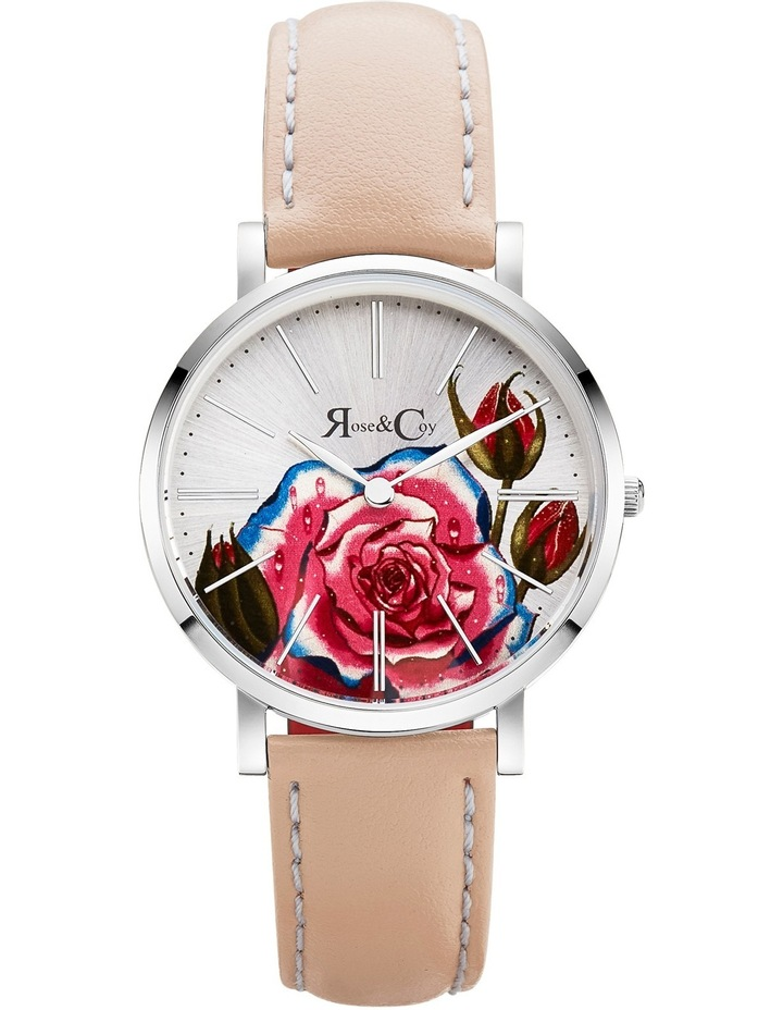 RCAM0201 Art Series Pink Rose Silver And Peach Watch image 1
