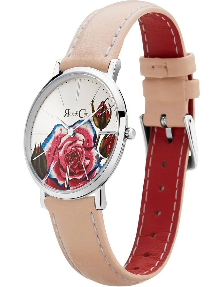 RCAM0201 Art Series Pink Rose Silver And Peach Watch image 2