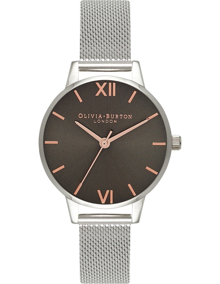 OB16MD80 Midi Dial Silver Watch image 1