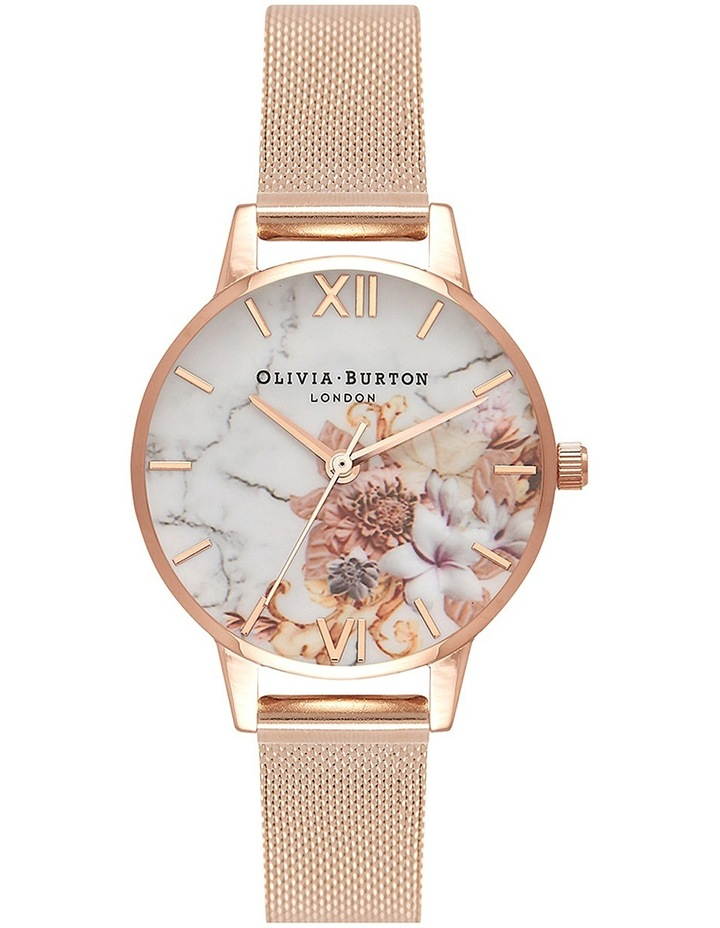 Marble Florals Rose Watch image 1