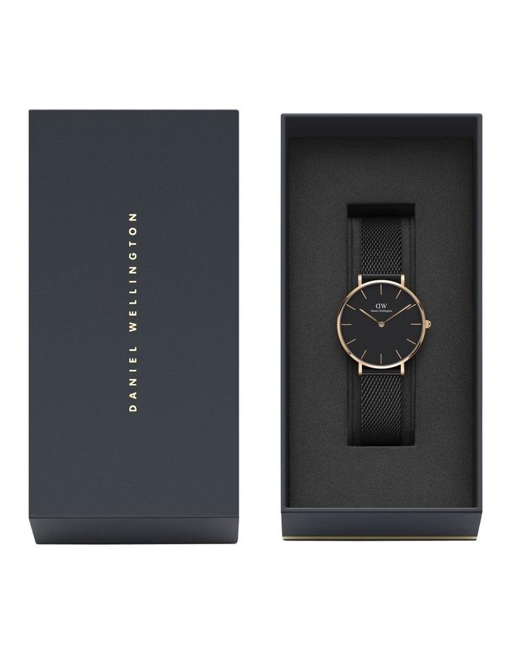 Petite Ashfield 32mm Black/Rose Gold Stainless Steel Quartz Watch image 2