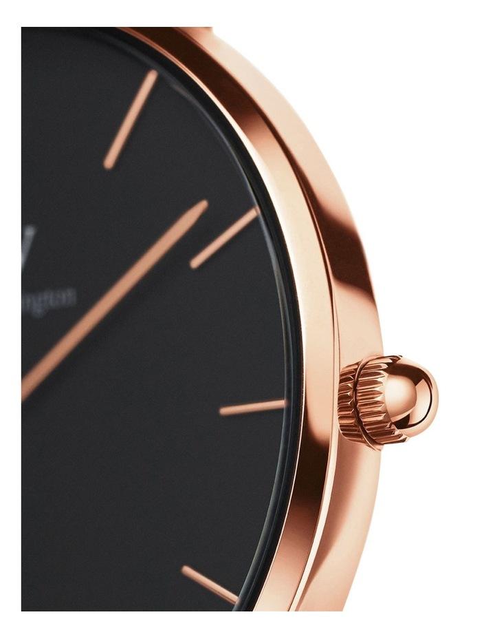 Petite Ashfield 32mm Black/Rose Gold Stainless Steel Quartz Watch image 5
