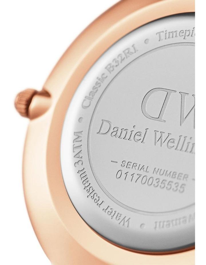 Petite Ashfield 32mm Black/Rose Gold Stainless Steel Quartz Watch image 7