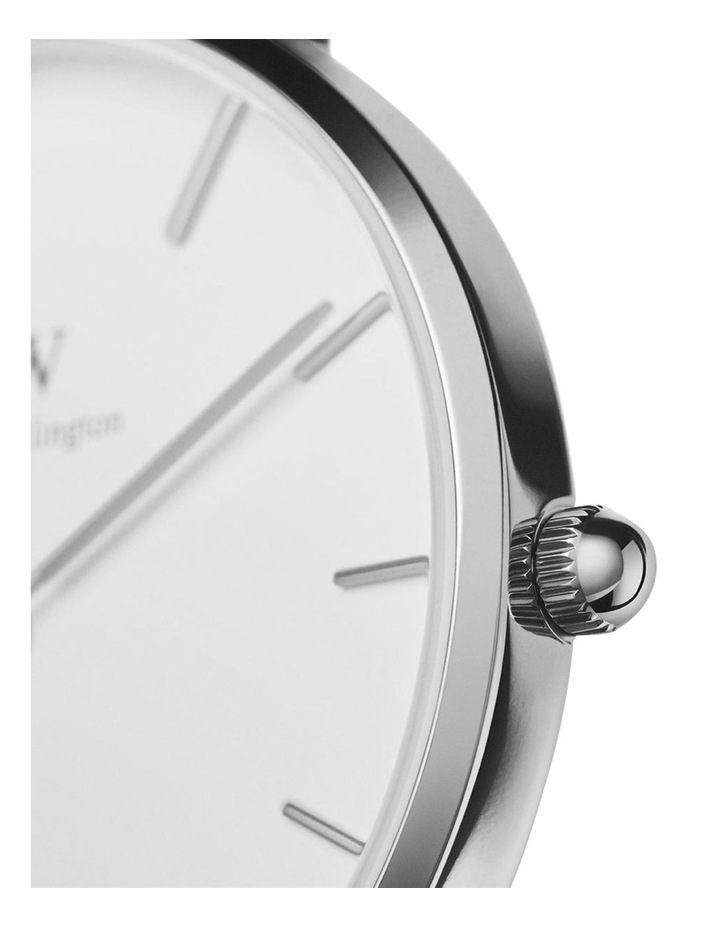 Petite Sterling 28mm Silver Watch image 3