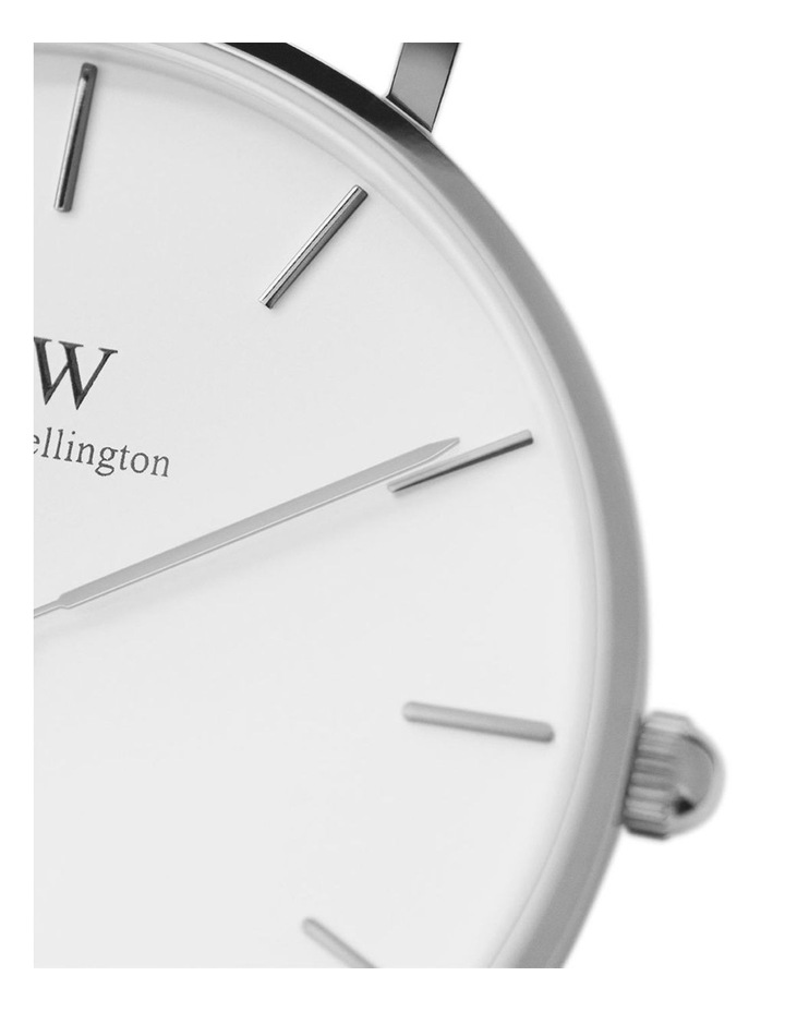 Petite Sterling 28mm Silver Watch image 4
