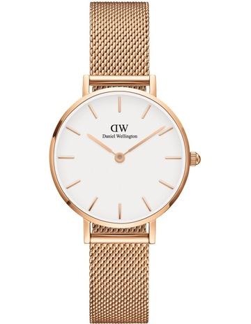 9ea8a63a872 Daniel WellingtonDW00100219 Petite 28mm Melrose White Dial Rose Watch.  Daniel Wellington DW00100219 Petite 28mm Melrose White Dial Rose Watch
