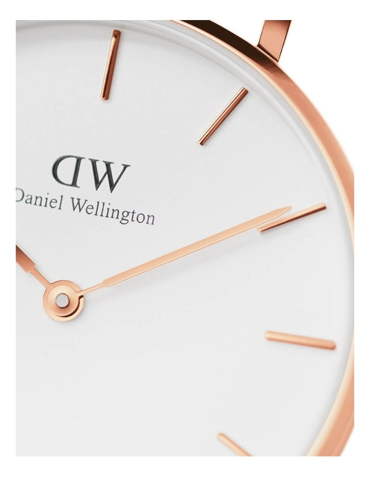 Petite Melrose 28mm RG White Dial Watch image 3