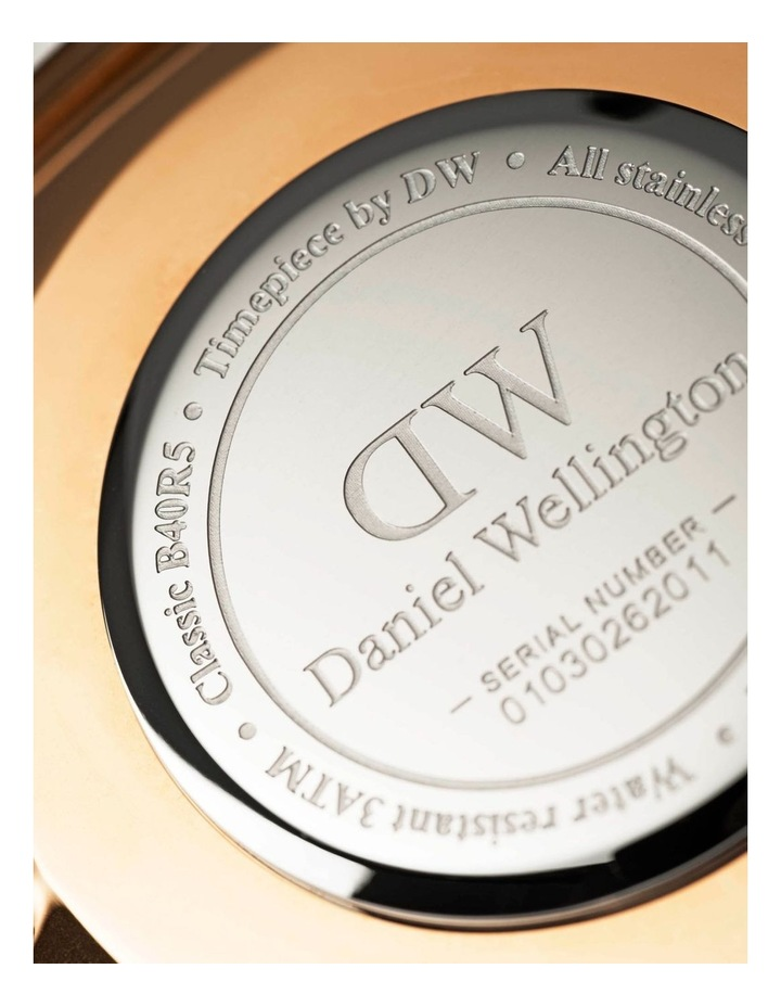 Petite Melrose 28mm RG White Dial Watch image 5