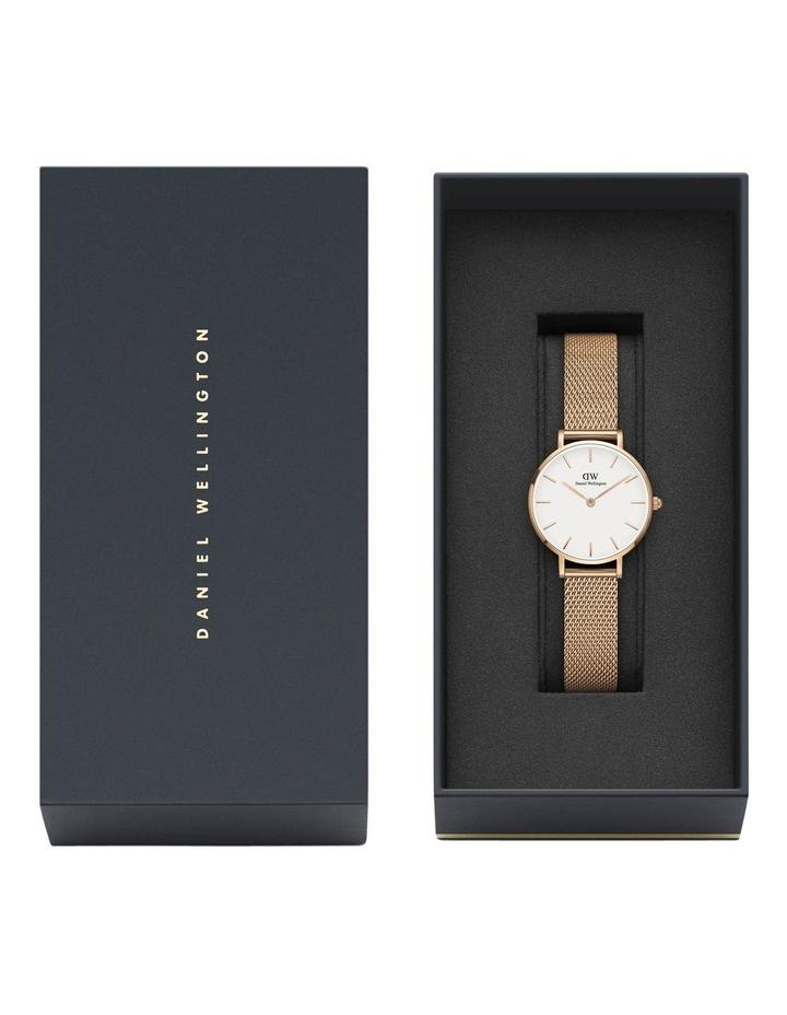 Petite Melrose 28mm RG White Dial Watch image 6