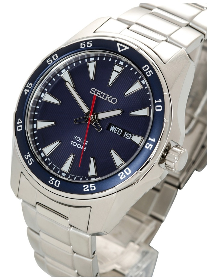 Silver & blue sports watch - SNE391P image 2