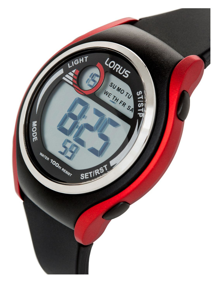 Sports Black and Red Watch R2379LX-9 image 2