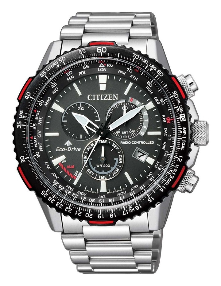 CB5001-57E World Time Silver Watch image 1