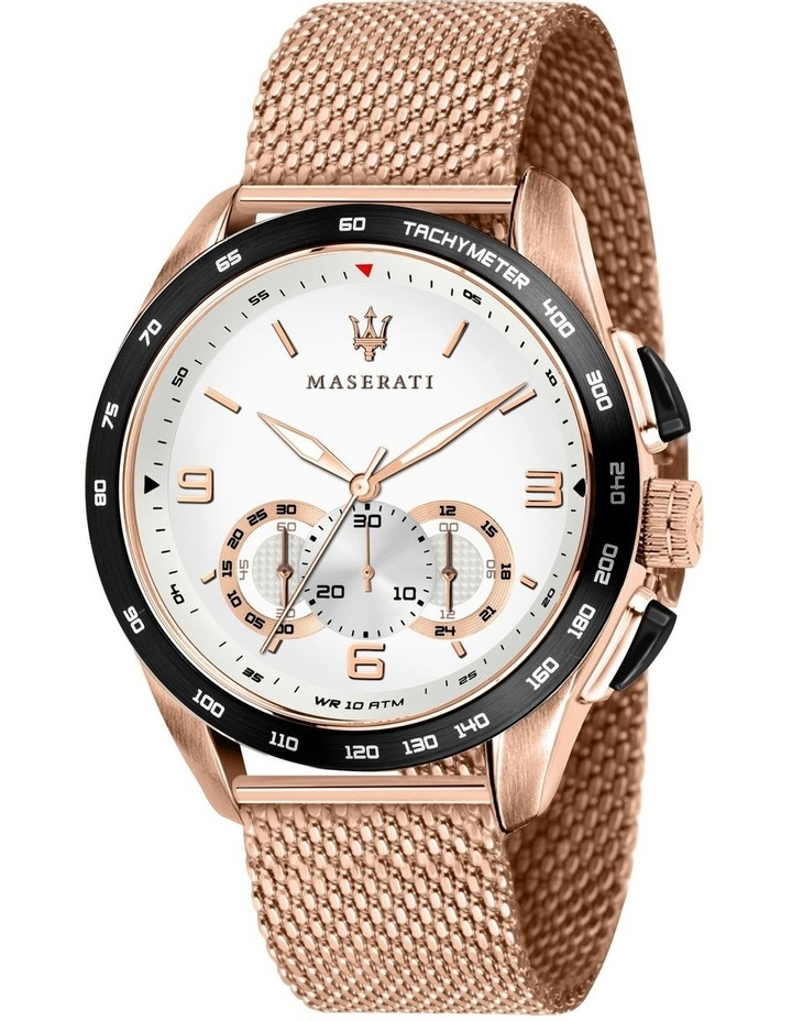R8873612011 Traguardo Rose Gold Watch image 1