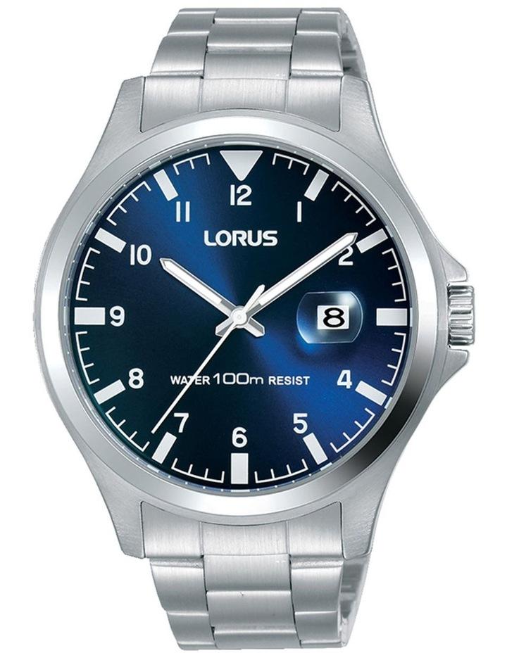 LORUS RH963KX-9 gents steel blue dial sports watch image 1