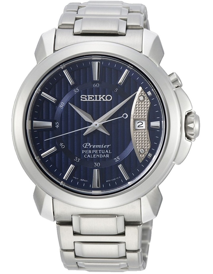 Gents Premier Silver Dress Watch SEIKO SNQ157P image 1