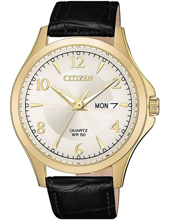 BF2003-25A, Gold Leather Strap image 1