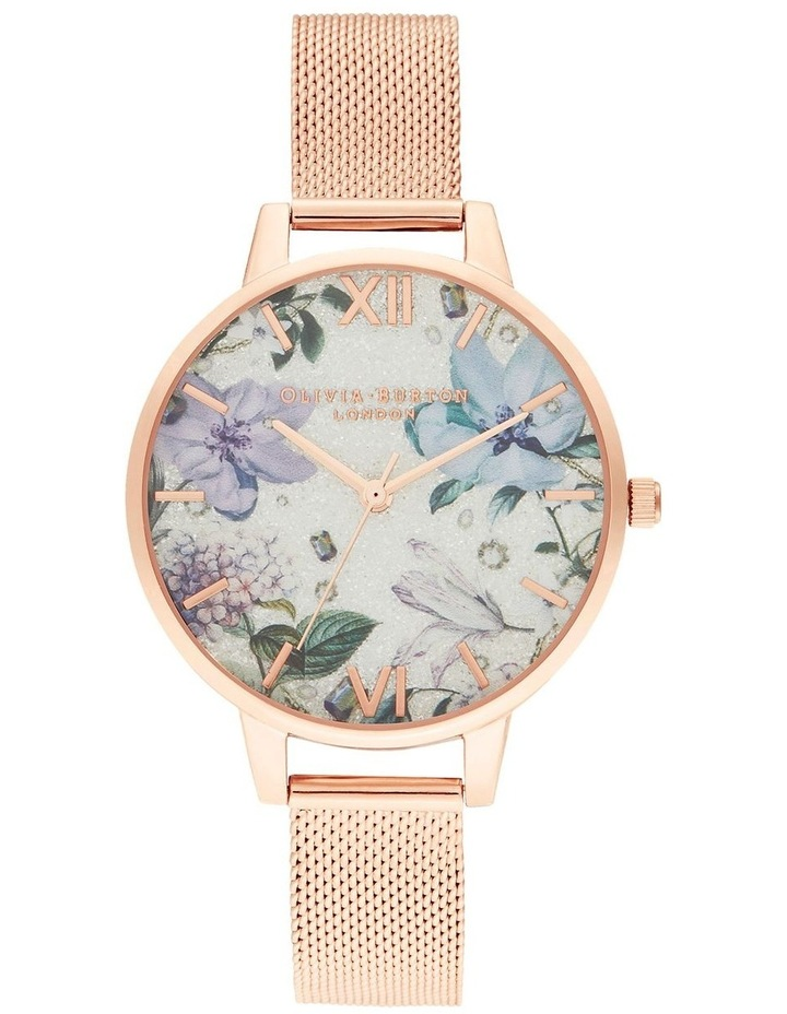 Bejewelled Florals Rose Gold Watch image 1
