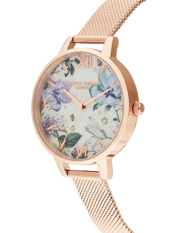 Bejewelled Florals Rose Gold Watch image 2