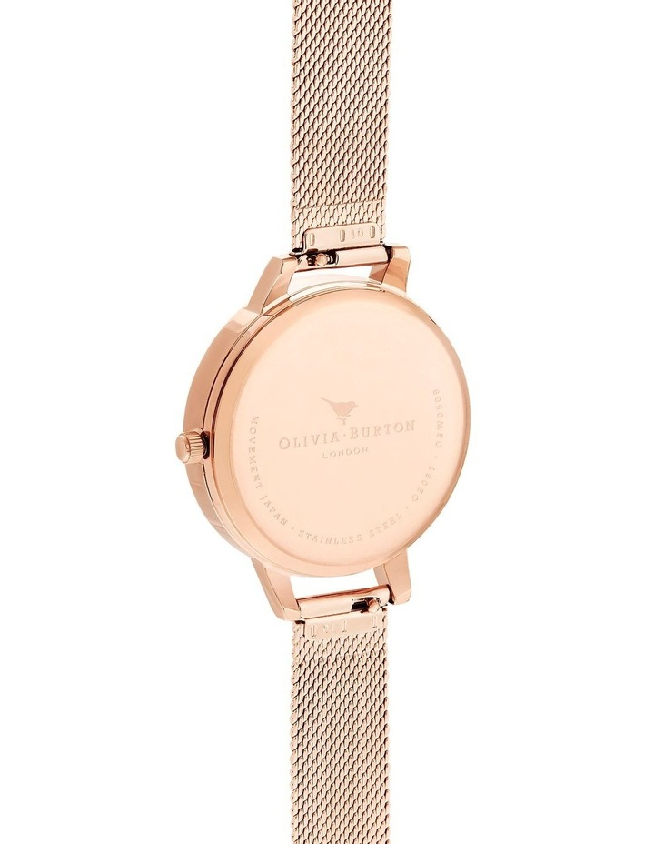 Bejewelled Florals Rose Gold Watch image 3